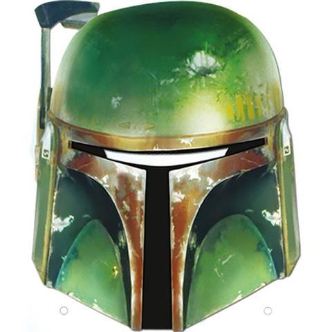 Bilde av Star Wars Boba Fett Maske 1stk