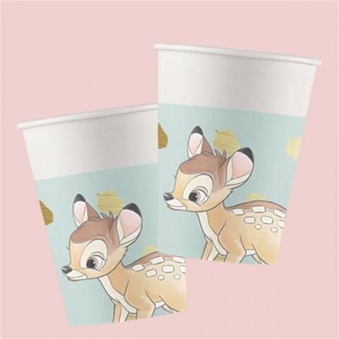 Bilde av Bambi Pappkopper 200ml 8stk
