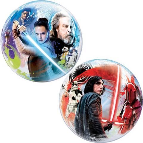 Bilde av Star WarsThe Last Jedi Bubble Ballong 56cm