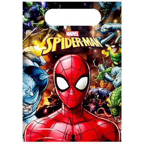 Bilde av Spiderman Team Up Godtepose 6stk