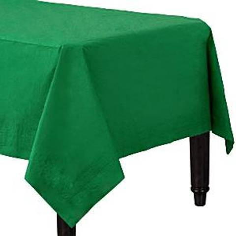 Bilde av Papirduk Grønn m/Plastunderlag 1.4m x 2.8m