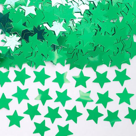 Bilde av Konfetti Grønne Stjerner 14g