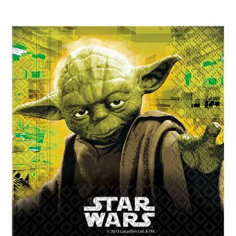 Bilde av Servietter Star Wars Yoda 20stk
