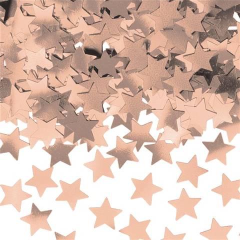 Bilde av Rose Gold Metallic Stjerne Konfetti 14g