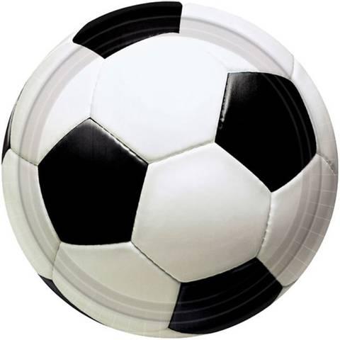 Bilde av Championship Fotball Papptallerkner 23cm 8stk