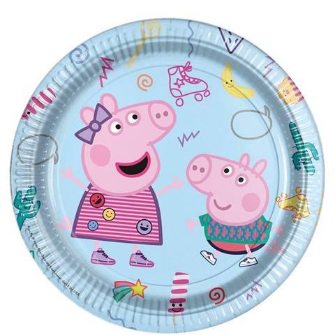 Bilde av Peppa Pig Messy Play Papptallerkner 23cm 8stk