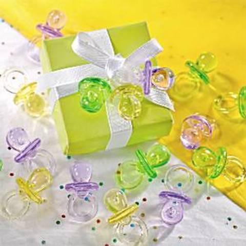 Bilde av Multi Fargede Krystall Smokker 3.5cm 24stk